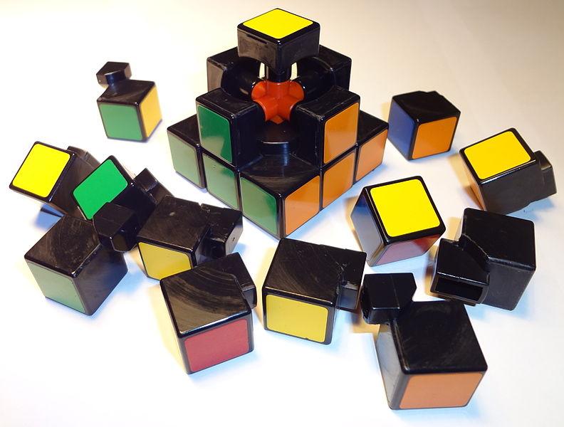 Rubik's Cube Taken Apart
