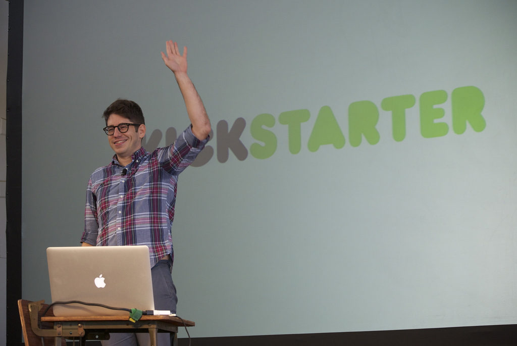 Raise your hand if you think Kickstarter is pretty cool.