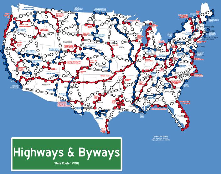 Highways & Byways Test Board