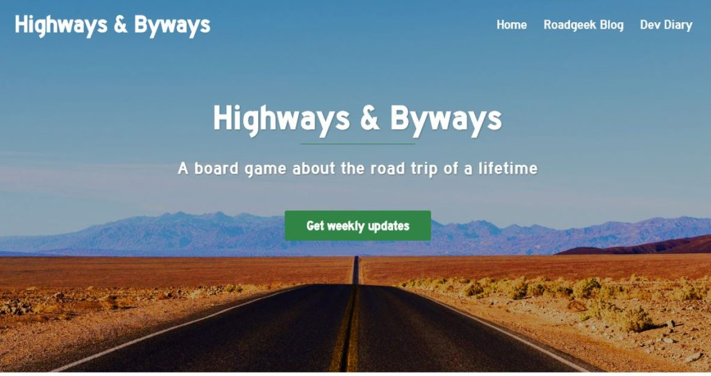 Highways and Byways website