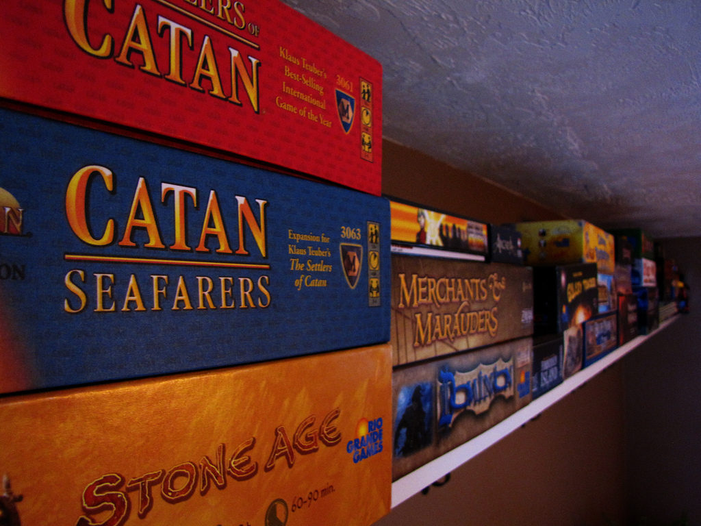 Board Game Shelf