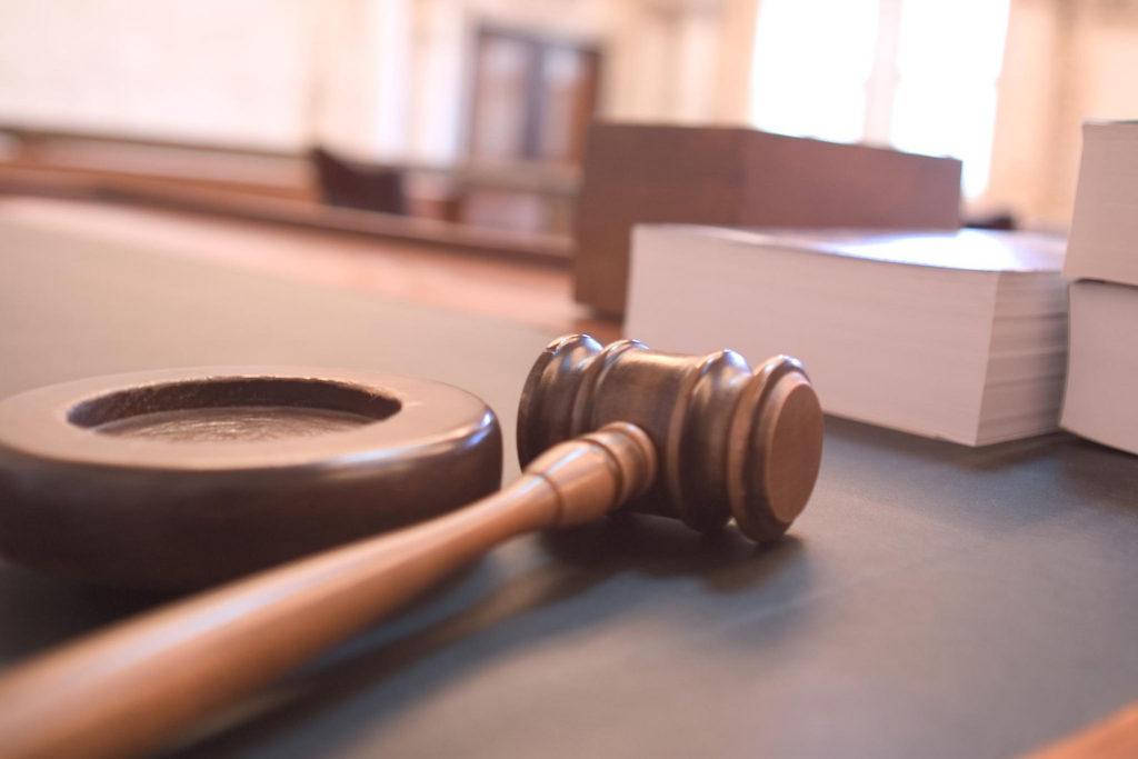 Courtroom Gavel Judgement
