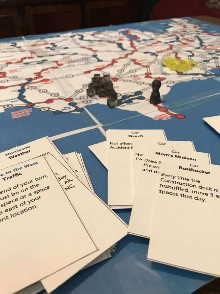 Board Game Development: Paper Test of Highways and Byways