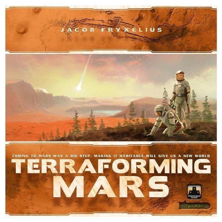 board game box - terraforming mars