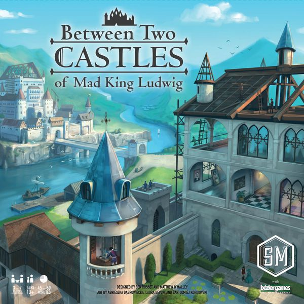 board game box - between two castles of mad king ludwig