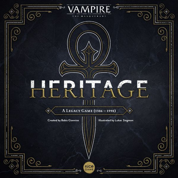 board game box - vampire heritage