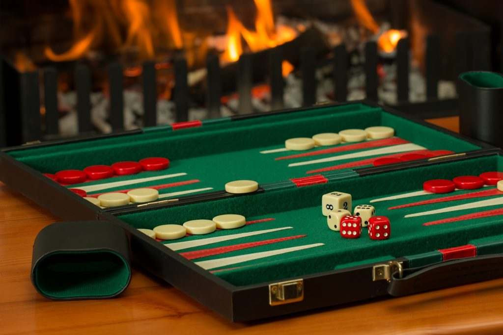 popular board game - backgammon