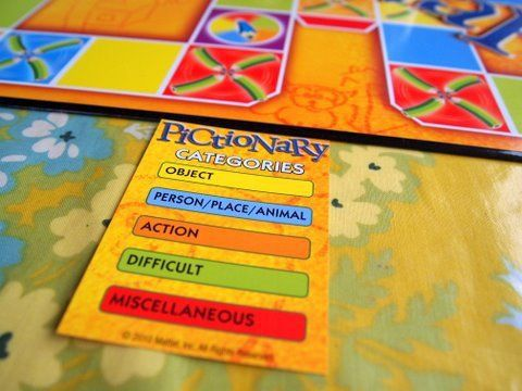 popular board game - pictionary