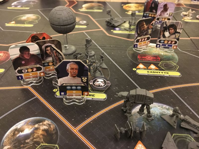 best board game - star wars rebellion