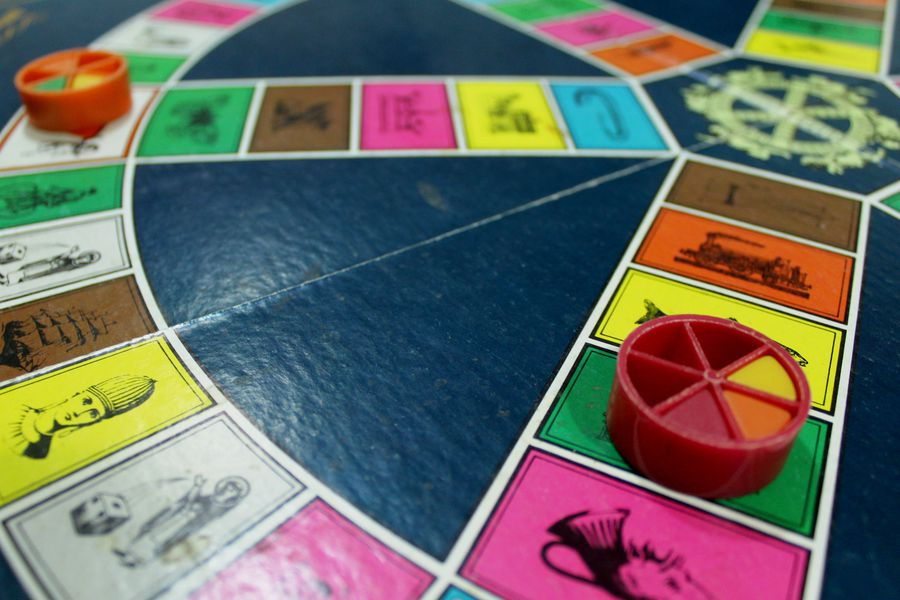 popular board game - trivial pursuit