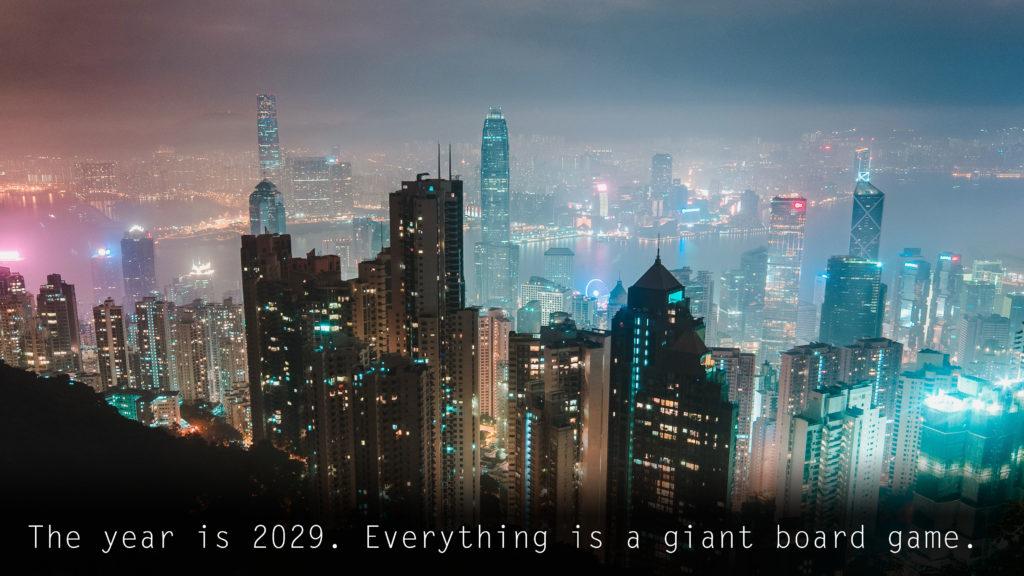 Board gaming in 2029.