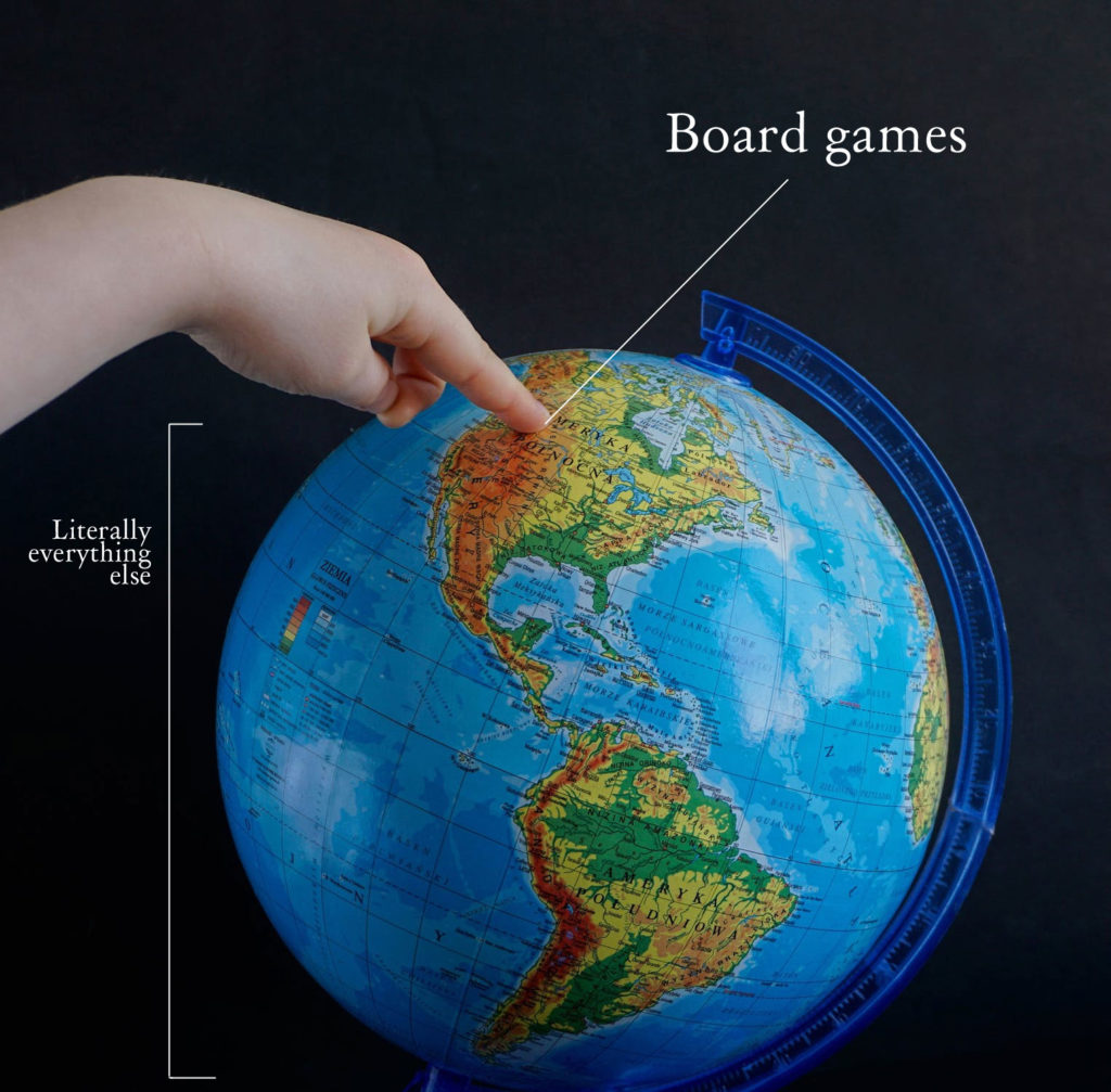 board games aren't everything